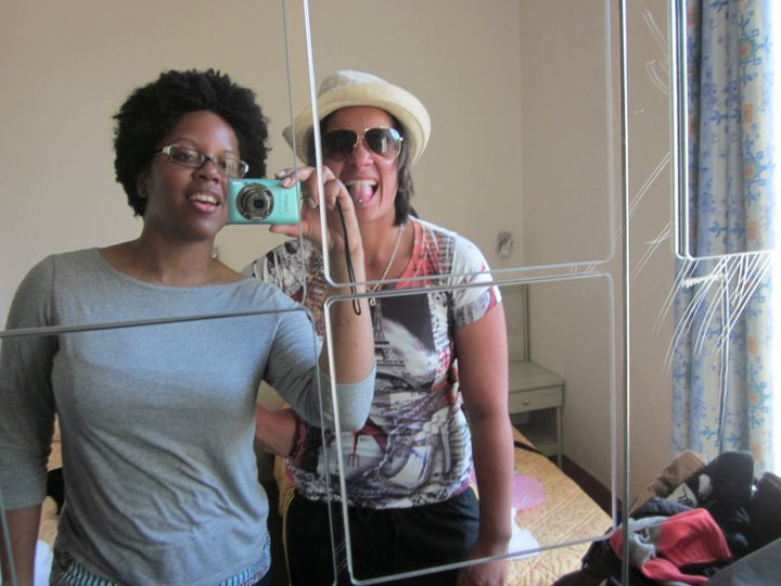 Oneata and I in Nice.