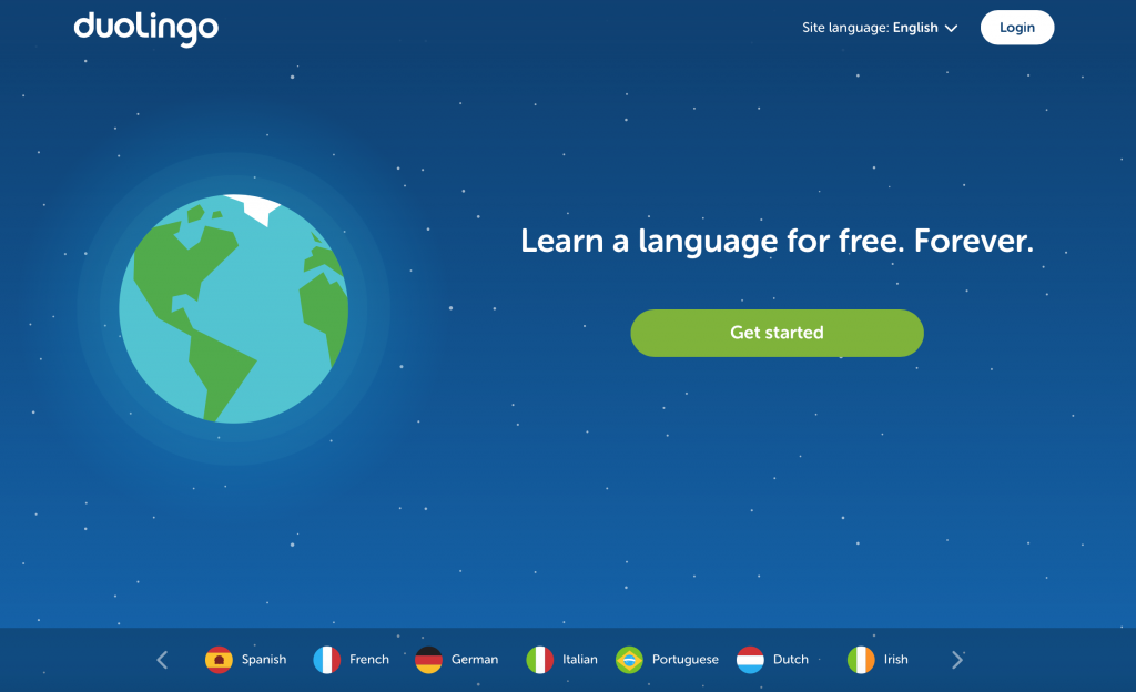 Need a few phrases on the fly? Learn a new language for free with Duo Lingo! :)