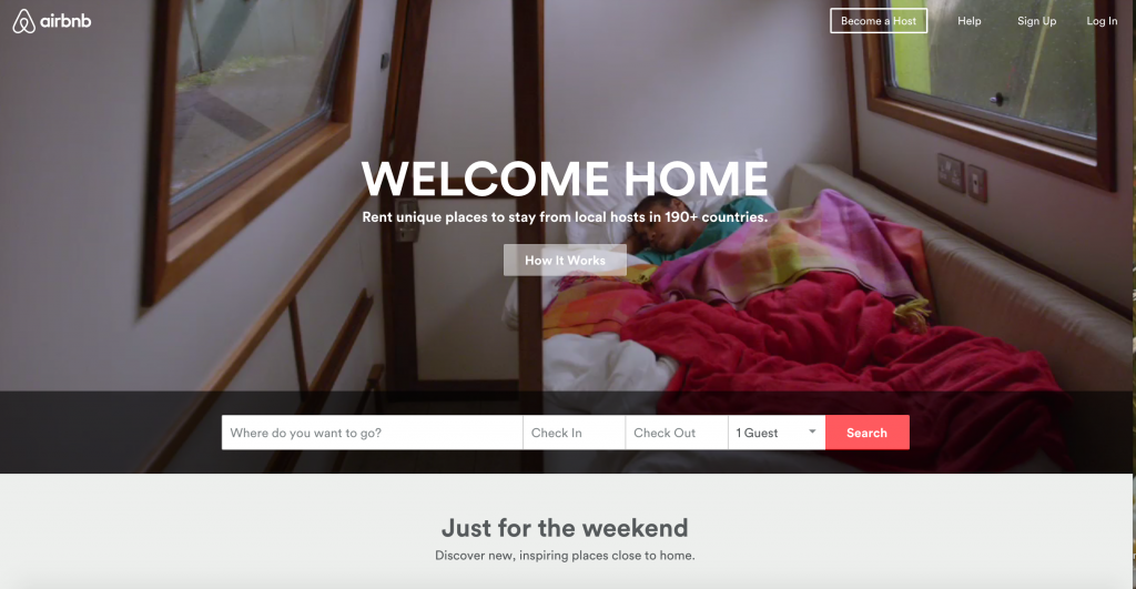 Booking a hotel, hostel, or swapping homes still not your thing? AIRBnB welcomes you home by inviting you to RENT unique places to stay from local hosts in 190+ countries! :)