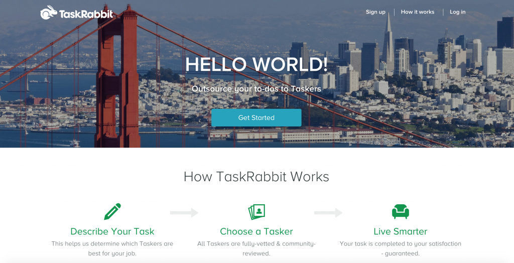 Become a TASK RABBIT Tasker and get hired to work virtually from anywhere! Get PAID to provide any service from personal assistance, to research and web design! Take back your LIFE, be YOUR OWN BOSS, and TRAVEL! :D