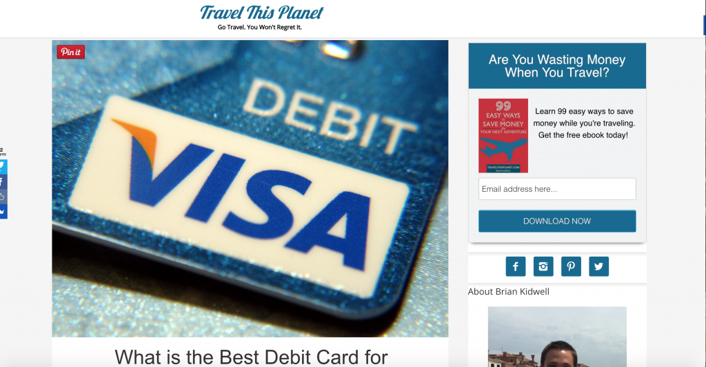 Now, you're equipped with all the information you need to compare and choose the best TRAVEL CREDIT CARD. But there will be moments when you're unable to use a credit card and a DEBIT CARD would come in handy. Let professional traveller Brian Kidwell tell which DEBIT CARD IS BEST!