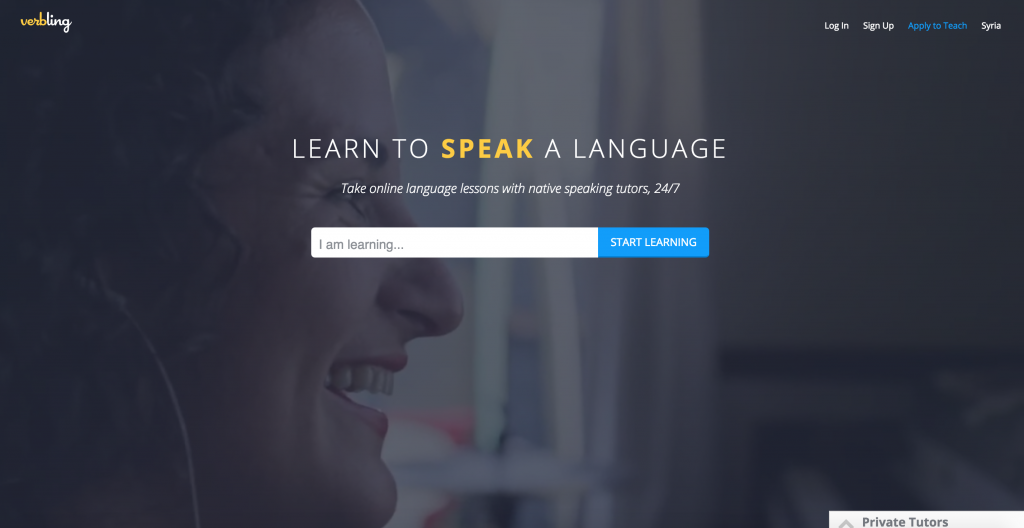 Become a NATIVE SPEAKING TUTOR with Verbling! Verbling enables private tutoring and group classes over high-quality, two-way video chat 24/7! This means you can be getting PAID 24/7 too! :)