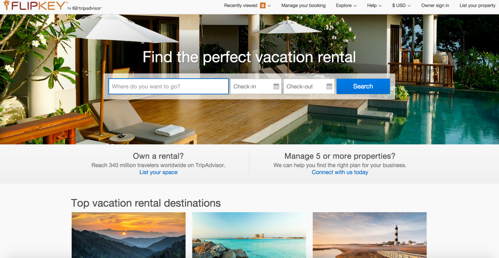 Want to expand your choices for short-term rentals? Check out FLIP KEY -- another one of the big short-term rental booking platforms online! If a locall apartment is more your speed, the majority of their LISTINGS ARE APARTMENTS! :)