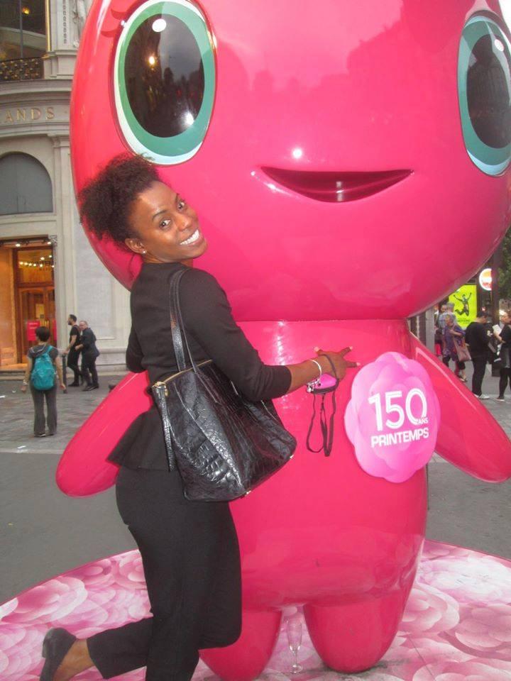 Dee peppy in Paris! :)