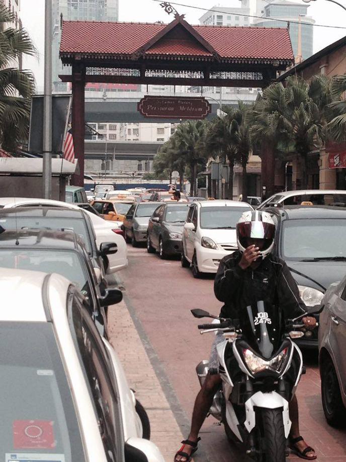Johor Bahru in Malaysia.
