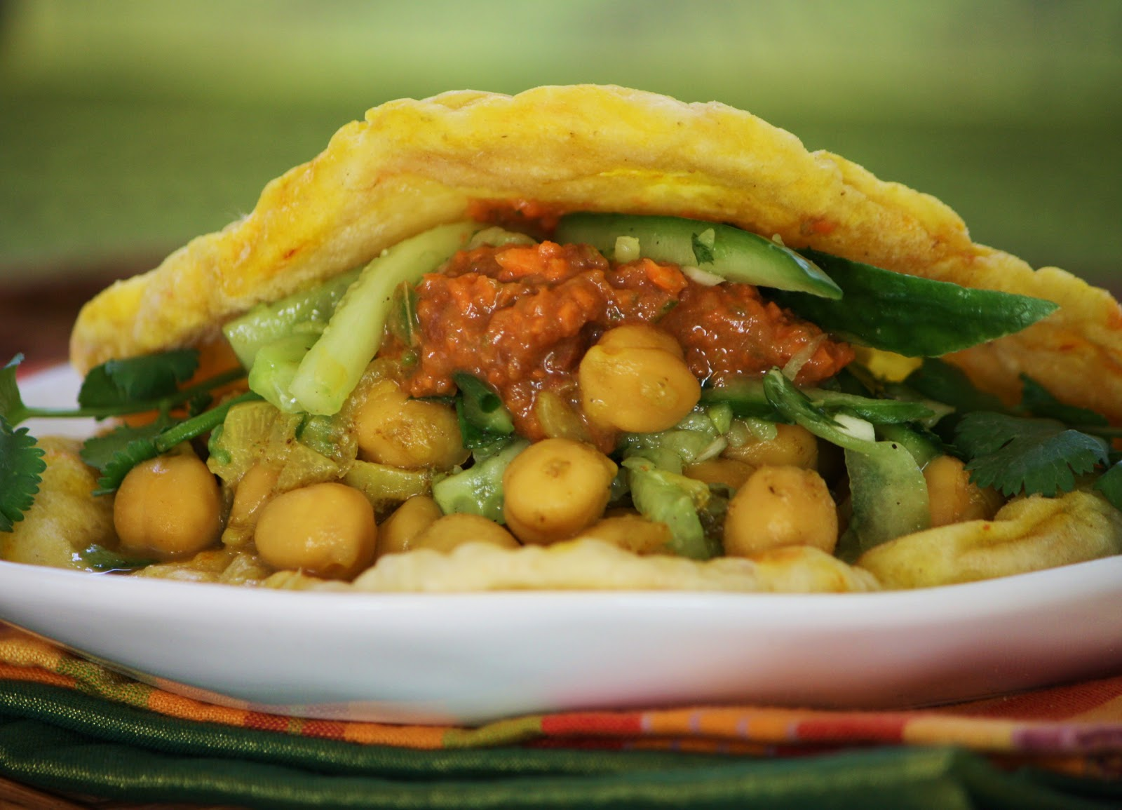 Trinidad is a polyglot culture, and its cuisine blends West African, East Indian, Chinese, French Creole, Spanish, English and Middle Eastern flavors into one spicy mix
