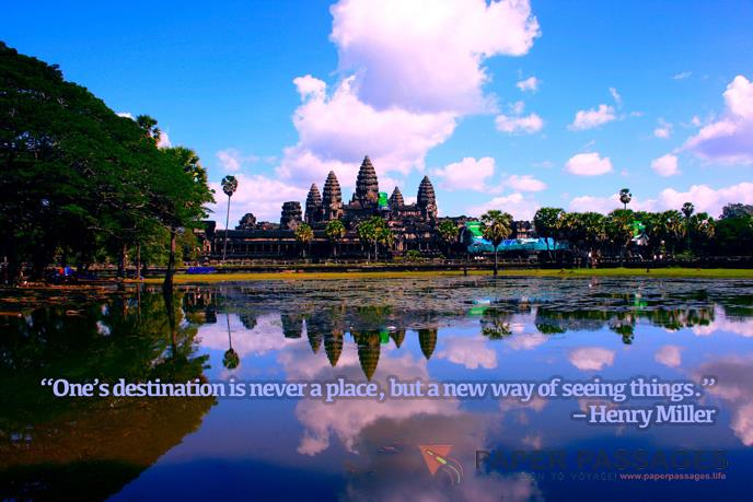 """One's destination is never a place, but a new way of seeing things."" – Henry Miller"